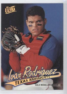 1997 Ultra Gold Medallion #140 - Ivan Rodriguez - Courtesy of CheckOutMyCards.com