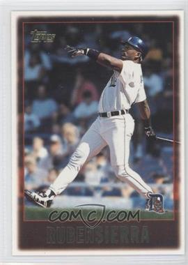 1997 Topps #452 - Ruben Sierra - Courtesy of COMC.com