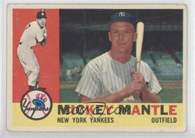 1960 Topps #350 - Mickey Mantle - Courtesy of CheckOutMyCards.com
