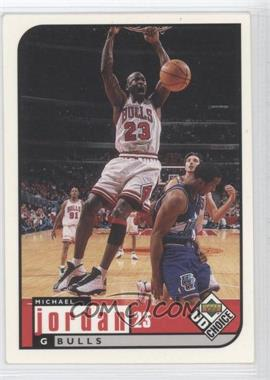 1998-99 UD Choice #23 - Michael Jordan - Courtesy of CheckOutMyCards.com