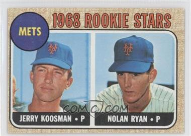 1968 Topps #177 - Rookie Stars/Jerry Koosman RC (Rookie Card)/Nolan Ryan UER (sensational is spelled incorrectly) RC ( - Courtesy of COMC.com