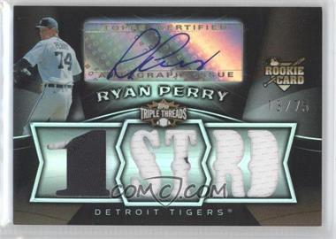 2009 Topps Triple Threads Sepia #129 - Ryan Perry Jsy AU/75 - Courtesy of COMC.com