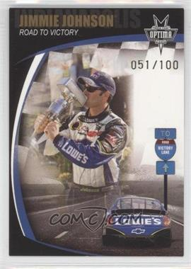 2006 Press Pass Optima Gold #G87 - Jimmie Johnson RTV Indy/100 - Courtesy of CheckOutMyCards.com