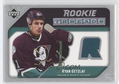 2005-06 Upper Deck Rookie Threads #RTRG - Ryan Getzlaf - Courtesy of CheckOutMyCards.com