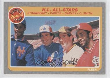 1985 Fleer #631 - Straw/Carter/Garvey/Oz - Courtesy of COMC.com