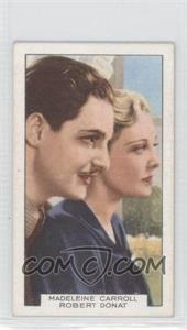 1935 Gallaher Film Partners #8 - Madeleine Carroll Robert Donat - Courtesy of COMC.com