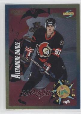 1994-95 Score Gold Line #248 - Alexandre Daigle YS