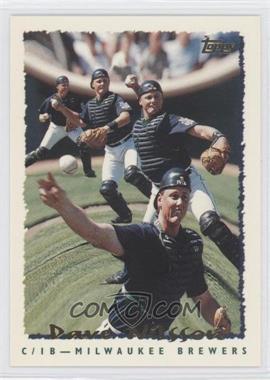 1995 Topps #17 - Dave Nilsson - Courtesy of COMC.com