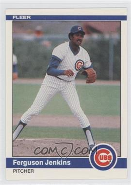 1984 Fleer #494 - Fergie Jenkins - Courtesy of COMC.com