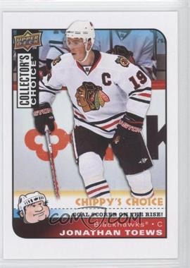 2008-09 Collector's Choice #292 - Jonathan Toews - Courtesy of CheckOutMyCards.com