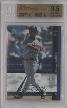 1994 SP Holoviews #31 - Manny Ramirez [BGS 9.5] - Courtesy of COMC.com