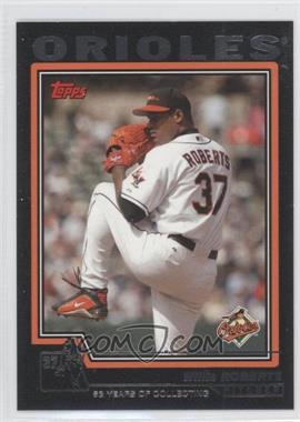 2004 Topps Black #105 - Willis Roberts/53 - Courtesy of COMC.com