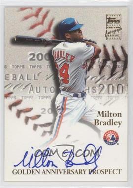 2001 Topps Golden Anniversary Autographs #GAAMB - Milton Bradley G2 - Courtesy of COMC.com