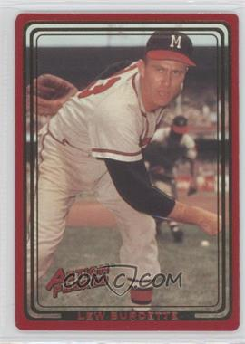 1993 Action Packed ASG #142 - Lew Burdette - Courtesy of COMC.com