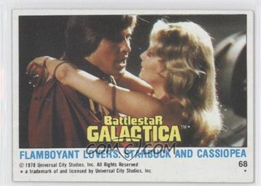 1978 Battlestar Galactica #68 - Flamboyant Lovers - Courtesy of COMC.com