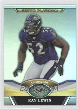 2011 Topps Platinum #41 - Ray Lewis - Courtesy of COMC.com