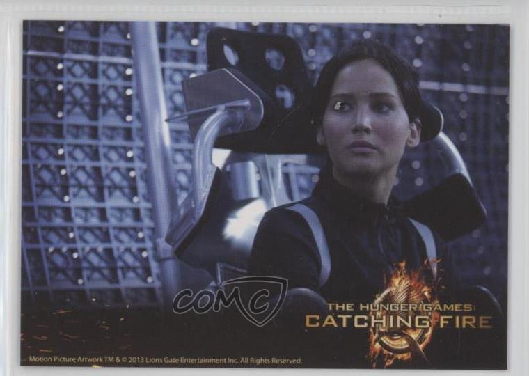 Mint 2013 NECA # 2 Trading Card Katniss Everdeen The Hunger Games: Catching Fire