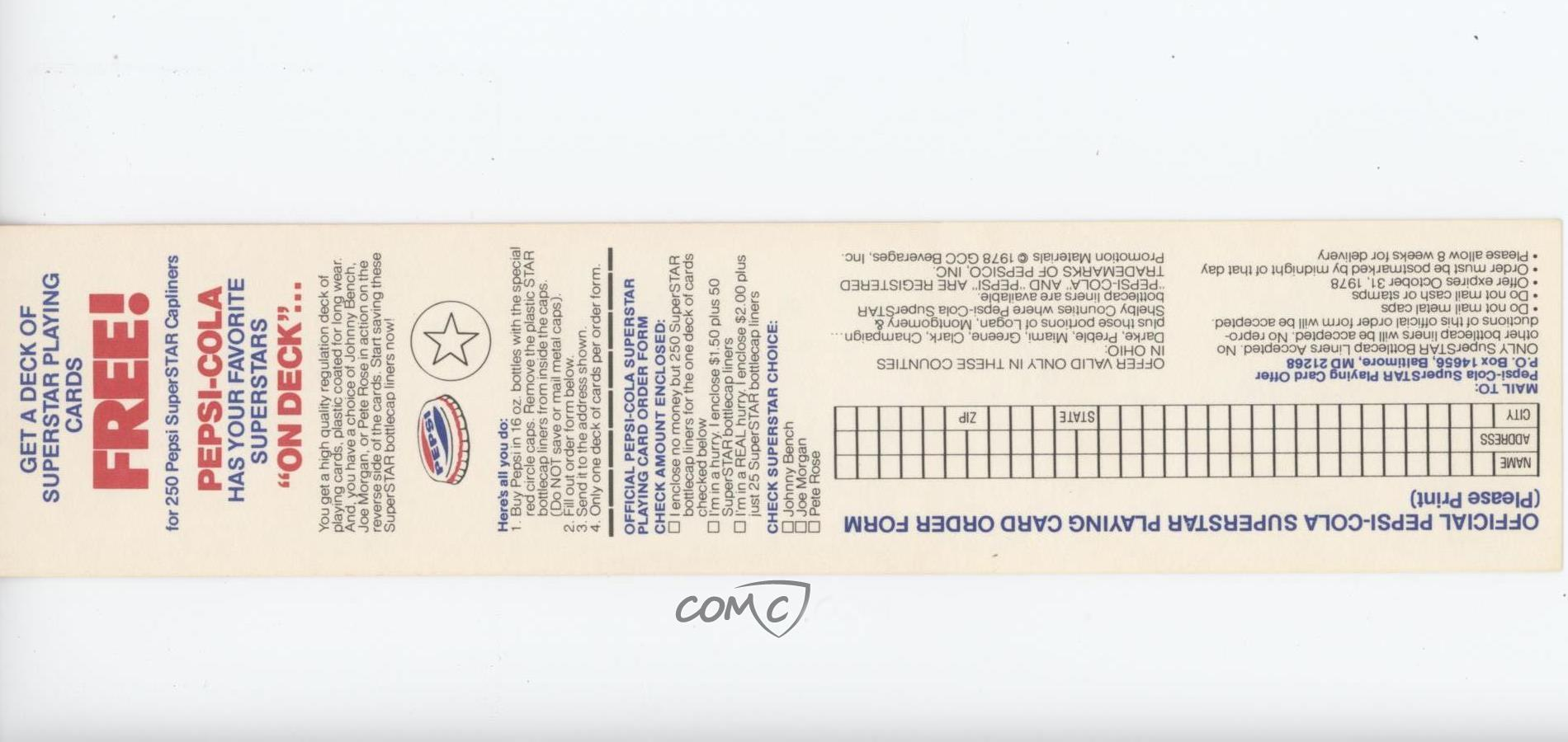 Details About 1978 Pepsi Cola Superstars With Tabs Rod Carew Minnesota Twins Baseball Card