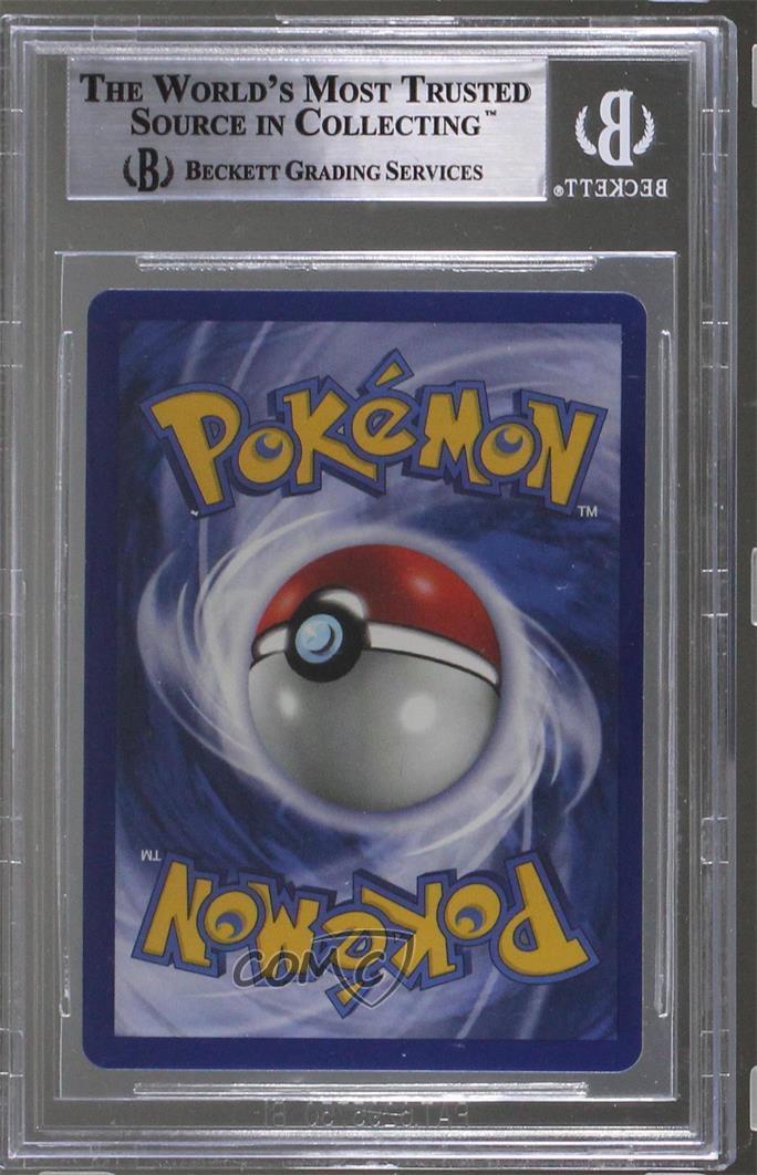 1999 Pokemon Base Set German 1st Edition 12 Ninetales Bgs 9 Mint