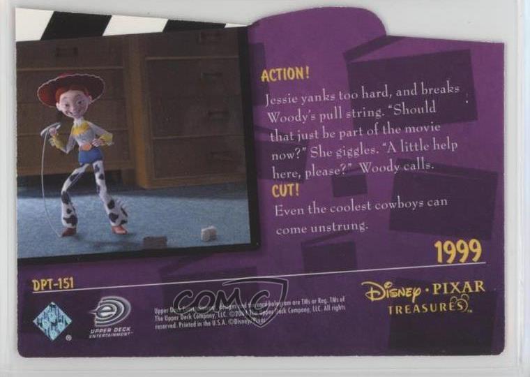 2004 Upper Deck Disney Pixar tesoros  DPT-151 Descartes  Toy Story 2 ... ae168ccebff