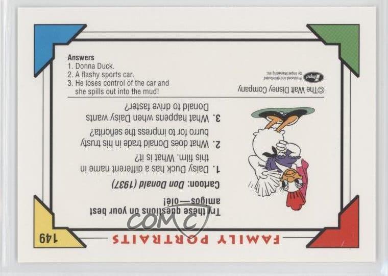 No Disney #149 Donald Impel 1991 (1937) 0c4 no tarjeta deportiva | eBay