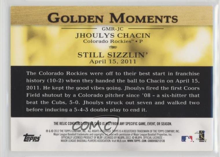 Sunglasses 2012 Topps #GMR-NM.2 Nick Markakis Baltimore Orioles Baseball Card