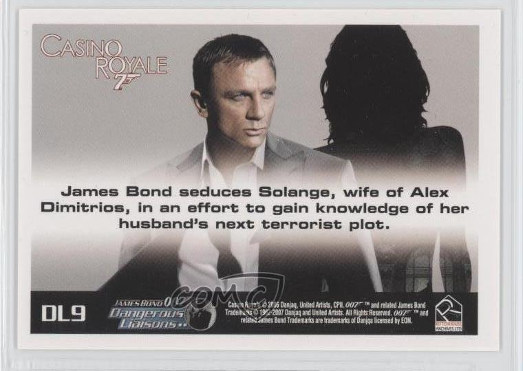 James Bond The Complete Casino Royale Dangerous Liaisons Chase Card DL6