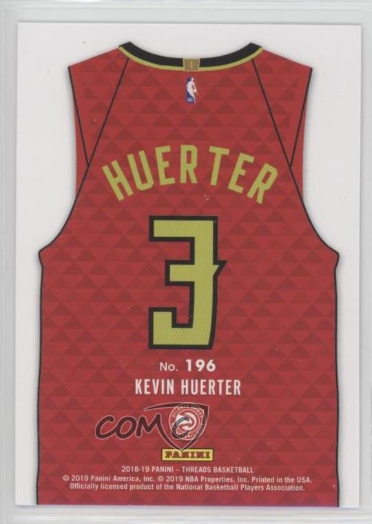 new concept ac50e 722ba Details about 2018-19 Panini Threads Dazzle #196 Kevin Huerter Rookies  Statement Jersey Rookie