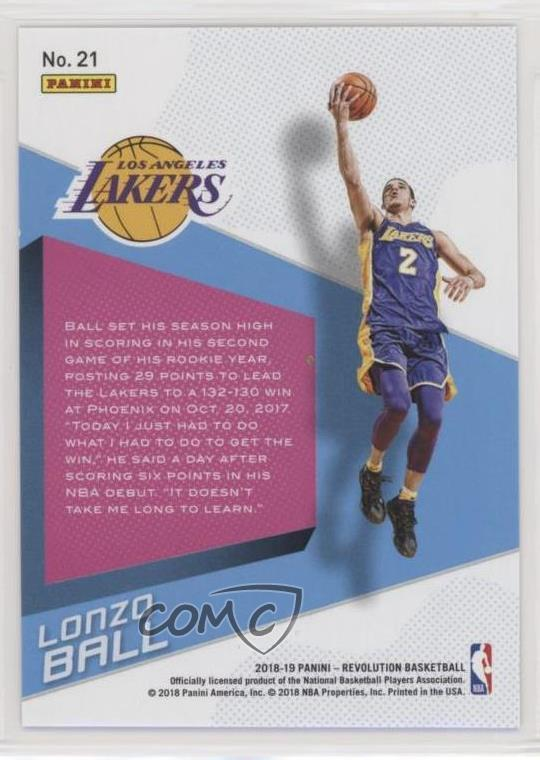 f0c49684b34 Representative Image - Select Specific Item above to see image of actual  item. COMC Item: 65444270 - Basketball Card - Featuring the Los Angeles  Lakers