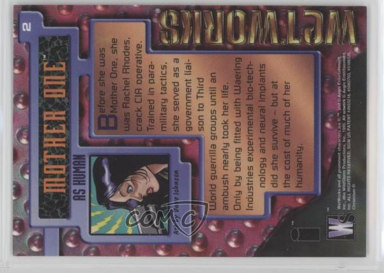 Details about 1995 Wildstorm WetWorks #2 Mother One Non-Sports Card c7w