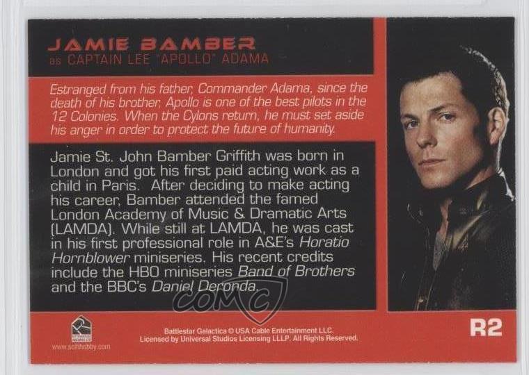 Battlestar Galactica PREMIERE Roll Call Chase Card R2