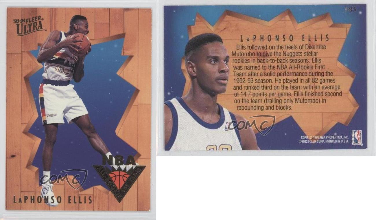 1993-94-Fleer-Ultra-NBA-All-Rookie-1st-Team-1-LaPhonso-Ellis-Denver-Nuggets-Card