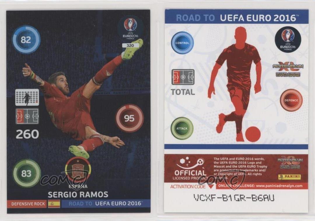 Panini Adrenalyn Xl Euro 2020 Sergio Ramos Master Trading Card Spain 4 Juguetes Y Juegos Coleccionables
