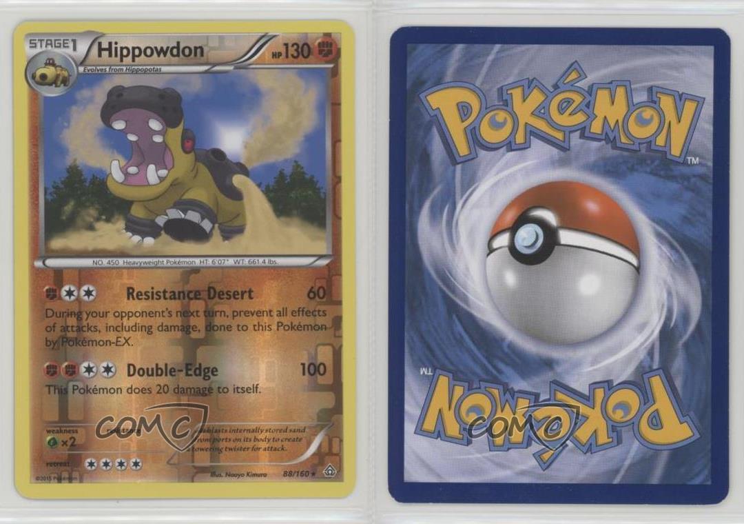 Hippowdon 88//160 Primal Clash Reverse Holo Mint Pokemon Card