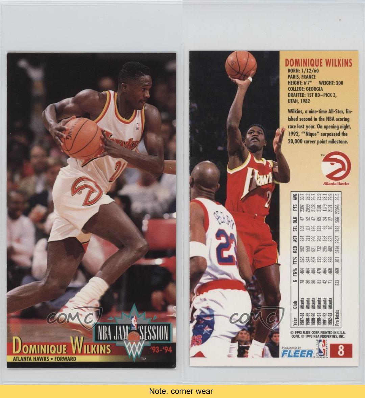 1993-94 NBA Jam Session #8 Dominique Wilkins Atlanta Hawks