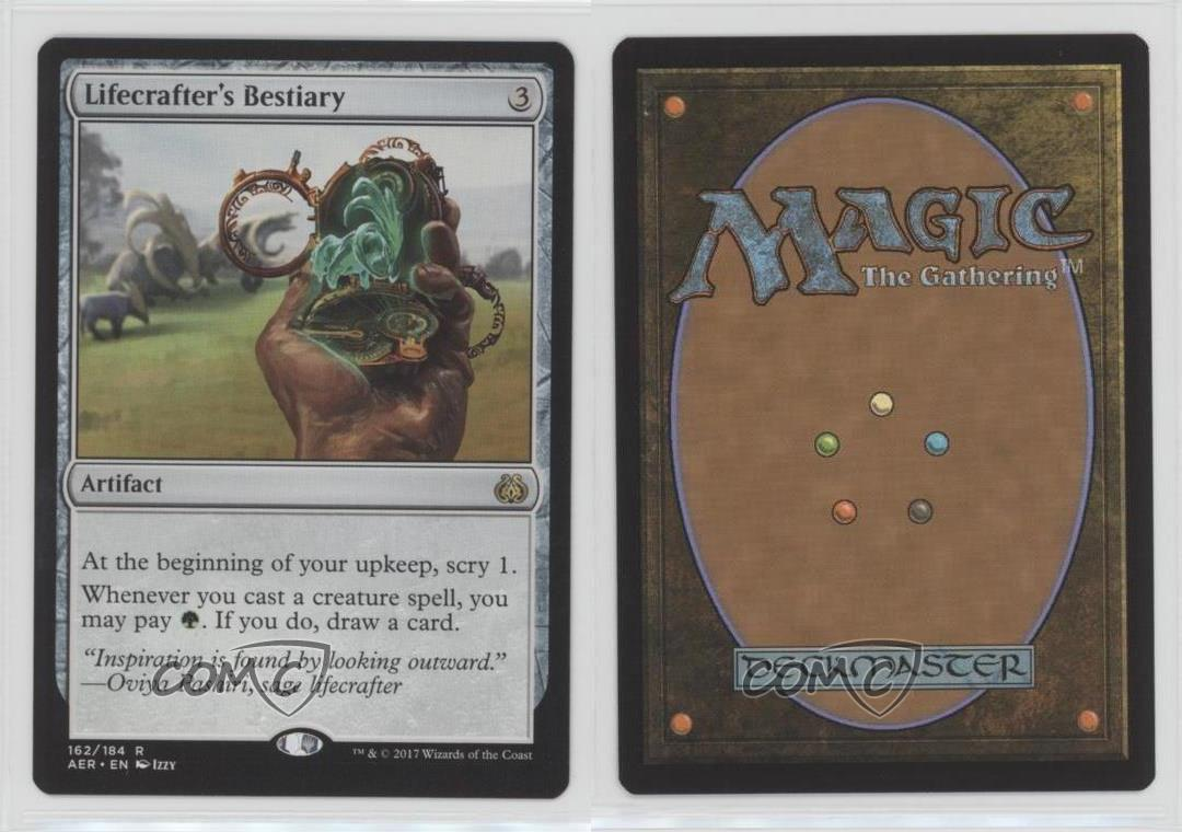 MTG Lifecrafter/'s Bestiary Aether Revolt AER 162//184  FOIL Japanese NM