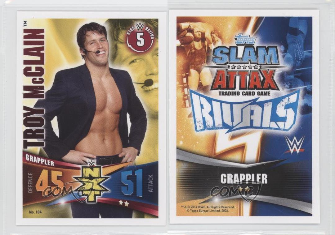 #184 troy McClain Slam ATTAX rivals