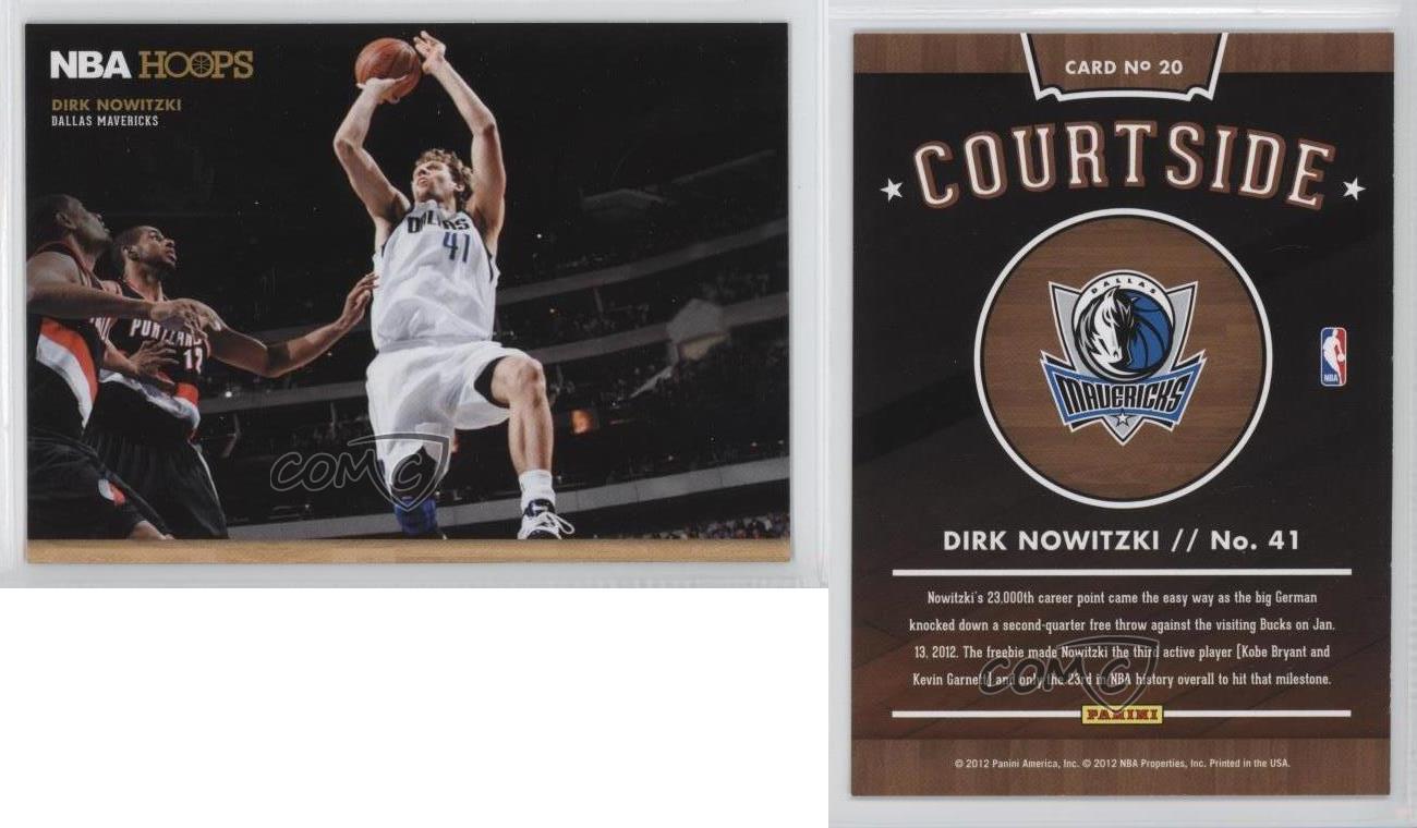 2012-13-NBA-Hoops-Courtside-20-Dirk-Nowitzki-Dallas-Mavericks-Basketball-Card