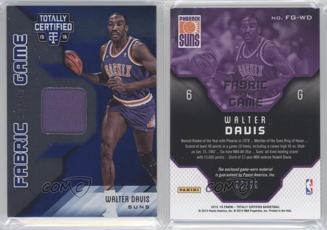 2015 16 Panini Totally Certified FG WD Walter Davis Phoenix Suns