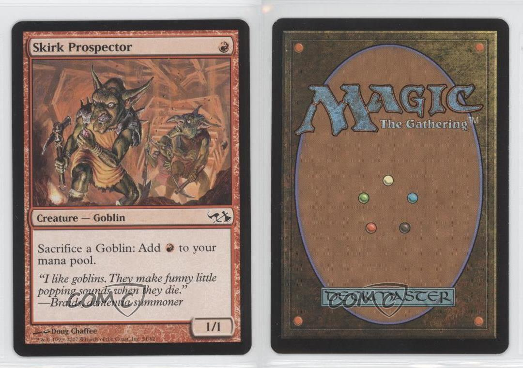 Goblins HP Elves vs MTG Magic The Gathering Slate of Ancestry Duel Deck