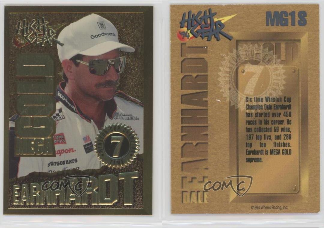 1994-Wheels-High-Gear-Mega-Gold-MG1S-Dale-Earnhardt-Racing-Card