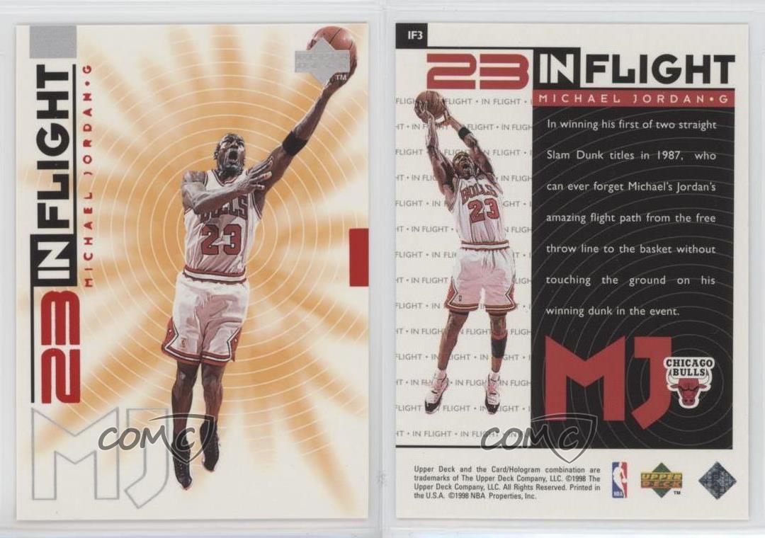 1998-Upper-Deck-Living-Legend-23-In-Flight-IF3-Michael-Jordan-Chicago-Bulls-Card