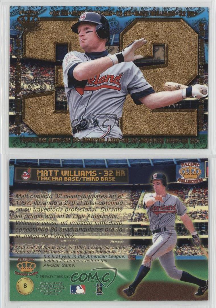 1998 Pacific Crown Collection Home Run Hitters 8 Matt