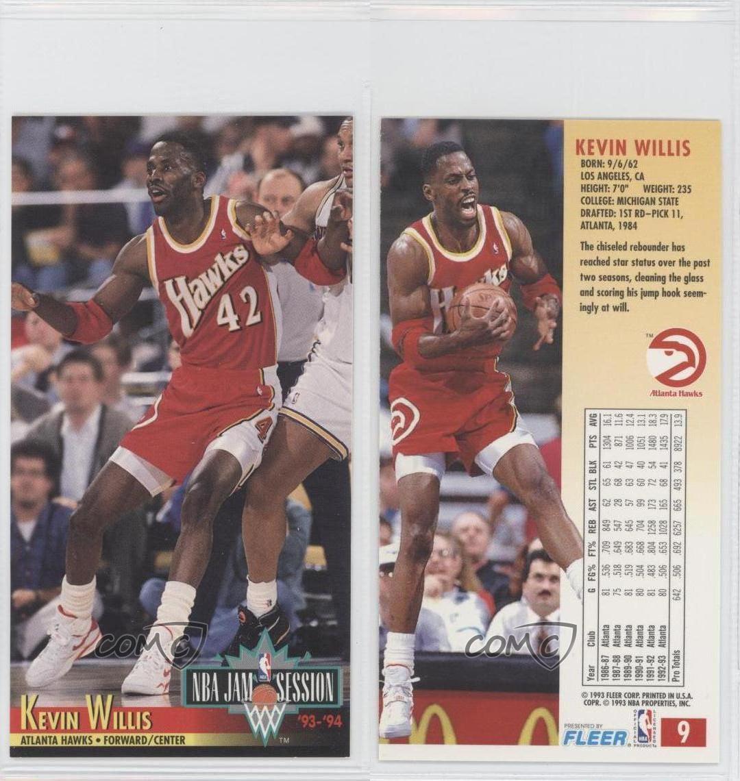 1993-94 NBA Jam Session #9 Kevin Willis Atlanta Hawks