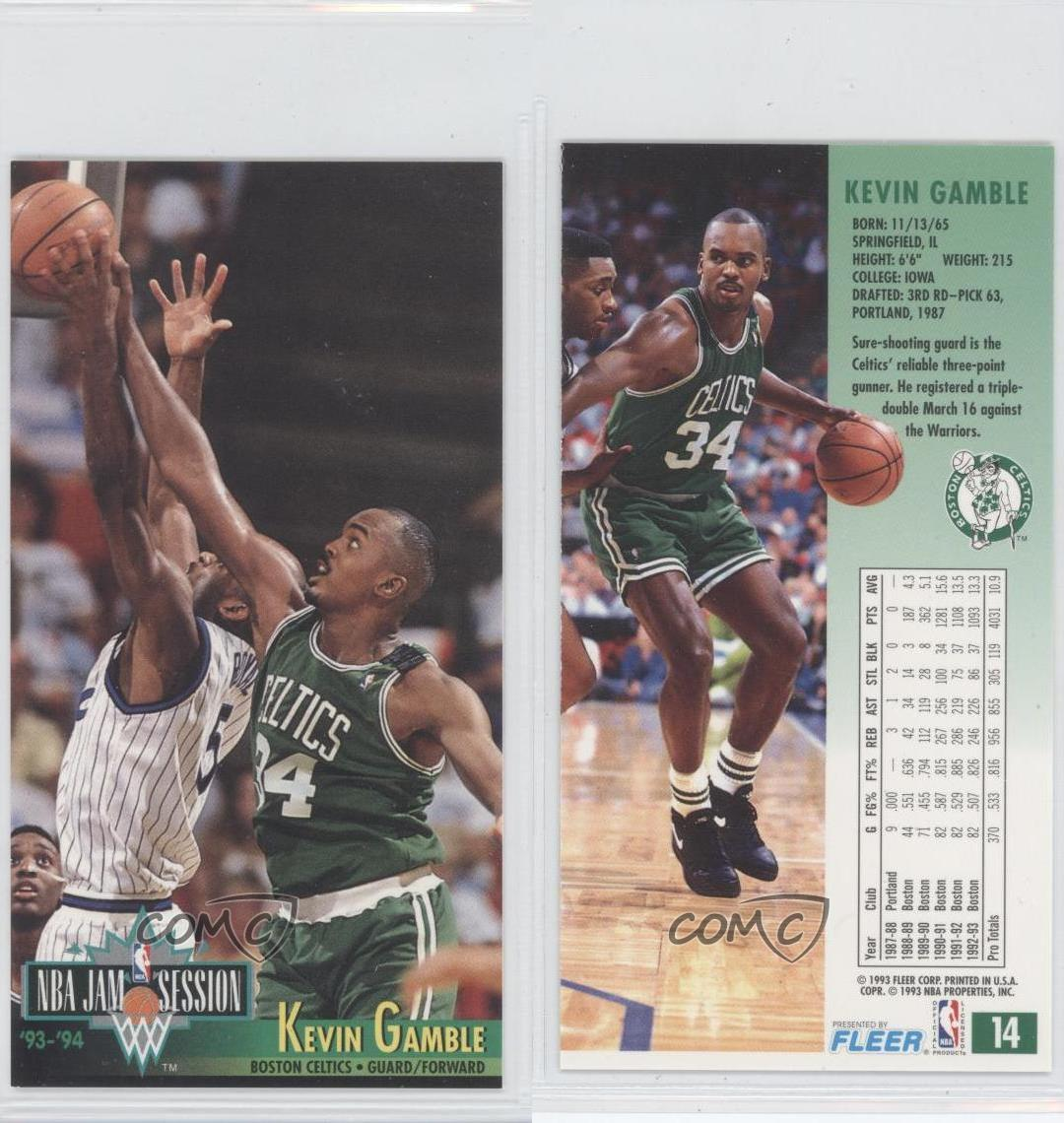 1993-94 NBA Jam Session #14 Kevin Gamble Boston Celtics