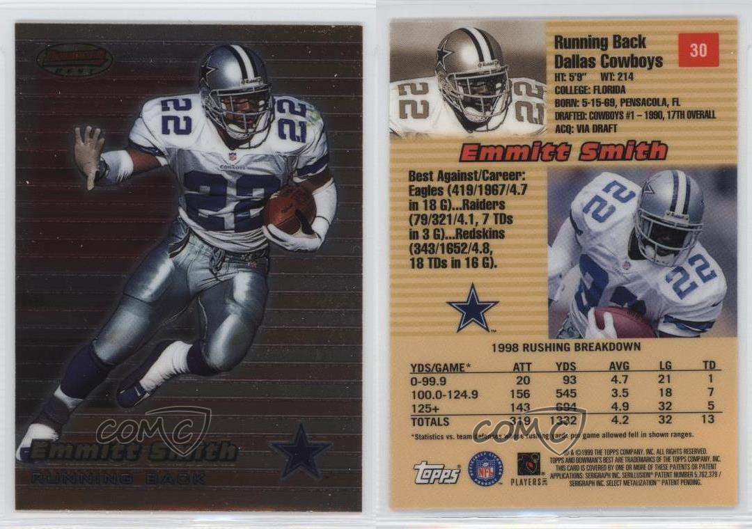 uk availability 672a9 ed973 9 Best Top Quality Dallas Cowboys Emmitt Smith Jersey Cheap ...