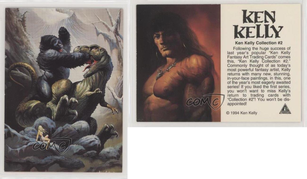 1994 FPG Ken Kelly Collection #2 Promo Trading Card