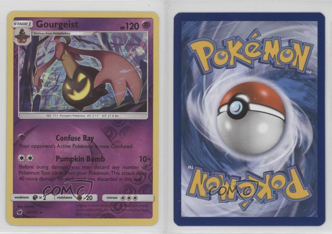 Common NM-Mint Pokemon HGSS Triumphant 4x Gastly 63//102