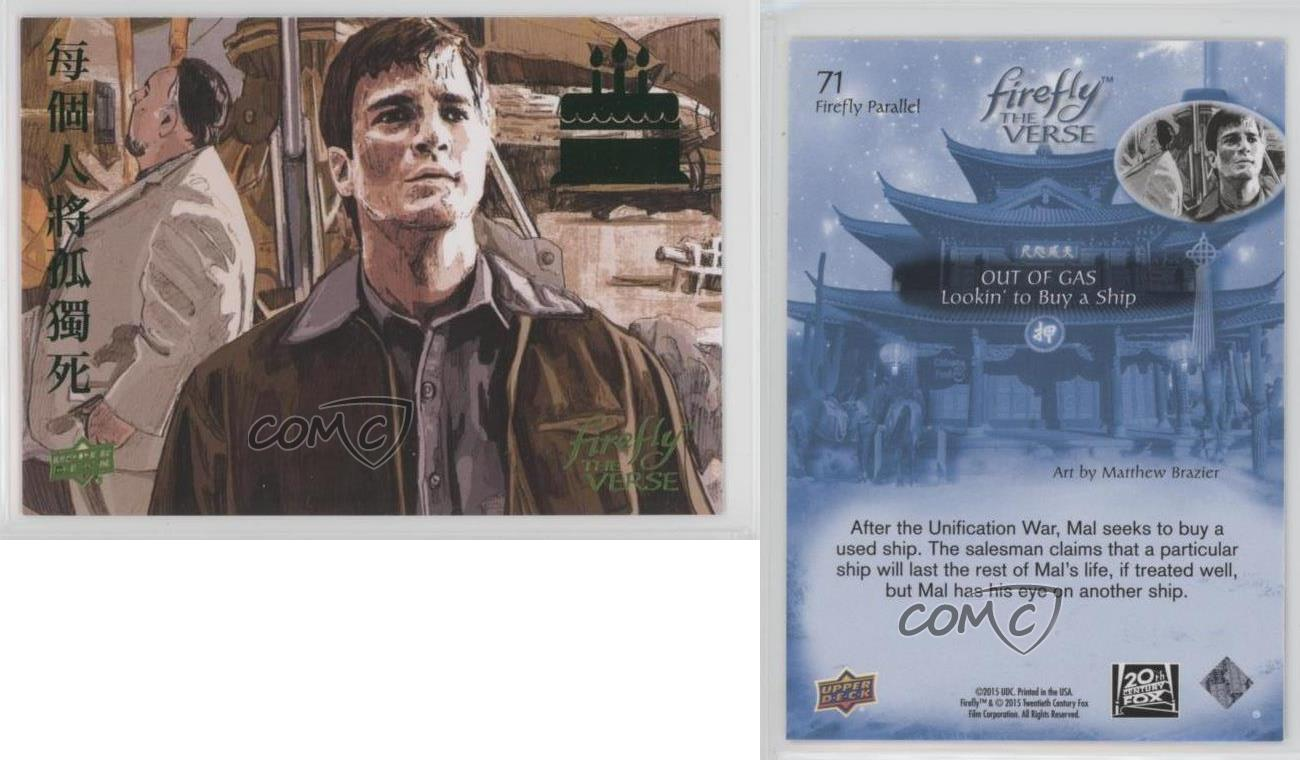 Firefly The Verse Foil Parallel Base Card #164 Serenity Ships