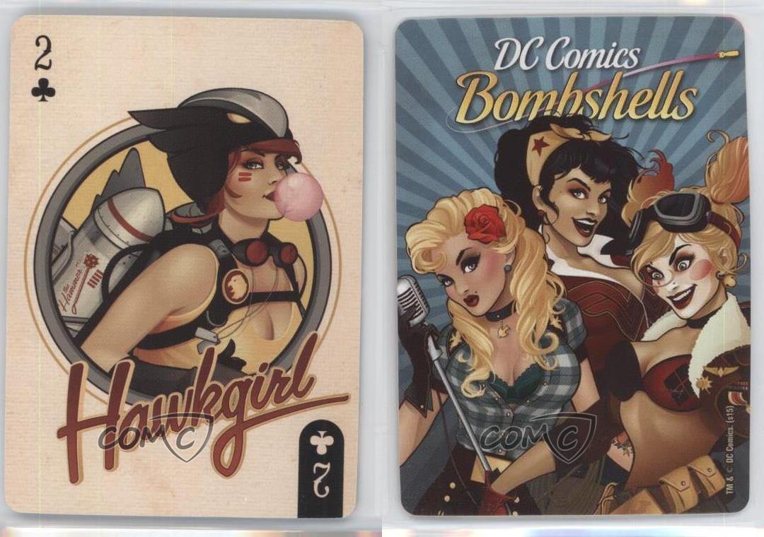 Aquarius DC Bombshells Playing Cards Deck